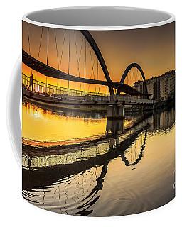 Jubia Bridge Naron Galicia Spain Coffee Mug by Pablo Avanzini
