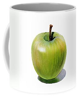 Juicy Green Apple Coffee Mug by Irina Sztukowski