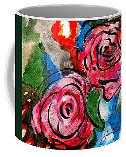 Juicy Red Roses Coffee Mug
