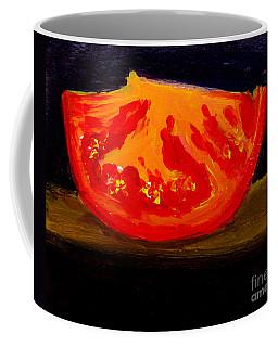 Juicy Tomato Modern Art Coffee Mug