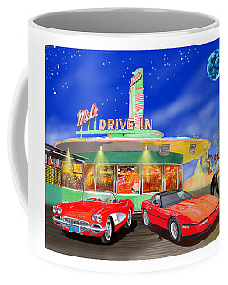 Julies Corvettes Coffee Mug