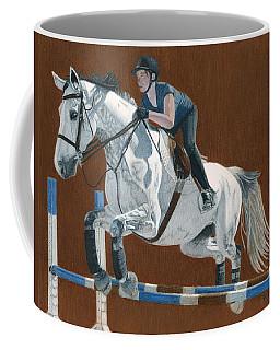 Jump Coffee Mug by Patricia Barmatz