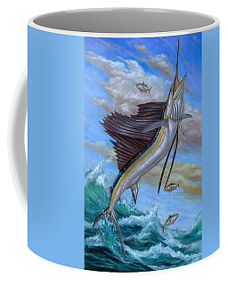 Jumping Sailfish Coffee Mug