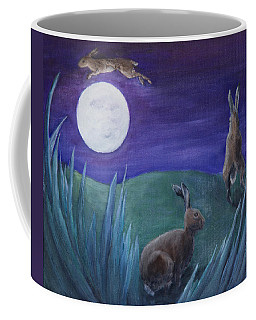 Jumping The Moon Coffee Mug