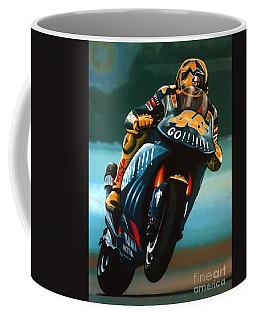 Jumping Valentino Rossi  Coffee Mug