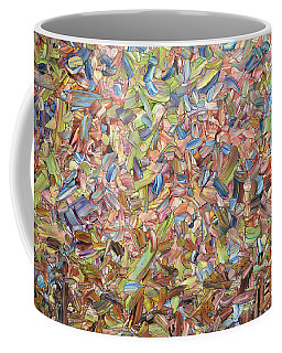 Coffee Mug featuring the painting June by James W Johnson