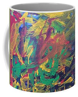 Coffee Mug featuring the painting Jungle by Donald J Ryker III