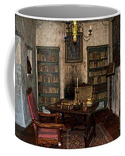 Junipero Serra Library In Carmel Mission Coffee Mug