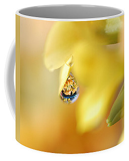 Just A Drop Of Spring Coffee Mug by Susan Capuano