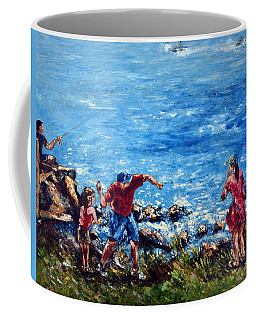 Just A Pebble In The Water Coffee Mug