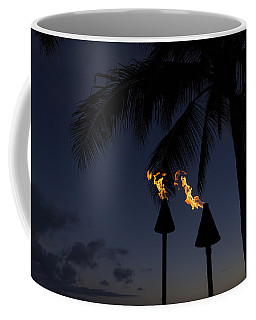 Just After Sunset The Beach Party Is Starting Coffee Mug