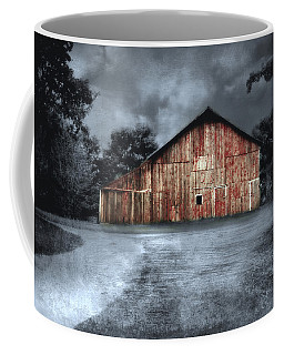 Night Time Barn Coffee Mug