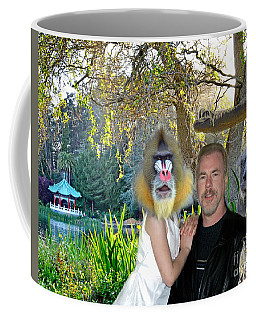 Coffee Mug featuring the photograph Just Another Day In The Park With The Old Gang by Jim Fitzpatrick