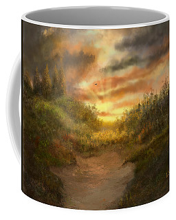 Just Before Darkness Coffee Mug by Sena Wilson