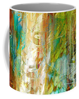 Just Being - Abstract Art Coffee Mug by Jaison Cianelli
