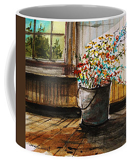 Just Gathered Wildflowers Coffee Mug by John Williams