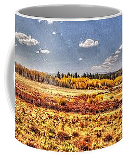 Coffee Mug featuring the photograph Just North Of Fairplay Colorado by Lanita Williams