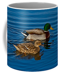 Just Swimming Along Coffee Mug