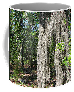 Coffee Mug featuring the photograph Just The Backyard by Greg Patzer