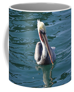 Coffee Mug featuring the photograph Just Wading by Laurie Lundquist