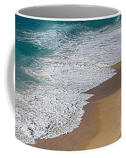 Just Waves And Sand By Kaye Menner Coffee Mug