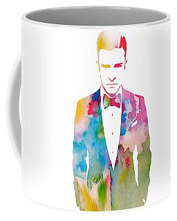 Justin Timberlake Watercolor Coffee Mug