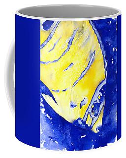 Juvenile Queen Angelfish Coffee Mug