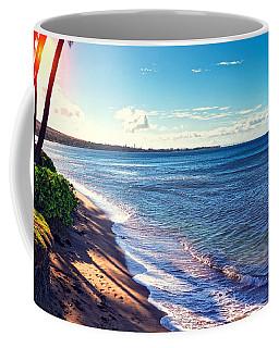 Kaanapali Beach Coffee Mug by Lars Lentz