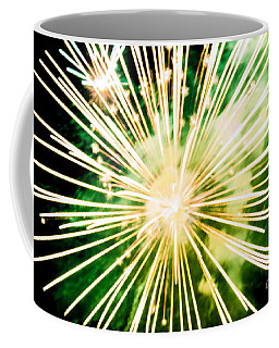 Coffee Mug featuring the photograph Kaboom by Suzanne Luft