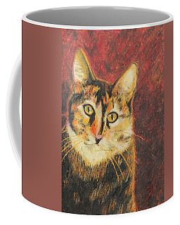 Coffee Mug featuring the painting Kaco by Jeanne Fischer
