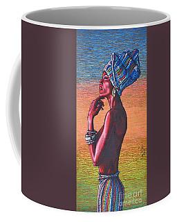 Kalimba De Luna Coffee Mug by Viktor Lazarev