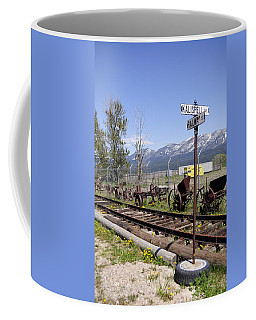 Kalispell Crossing Coffee Mug by Fran Riley
