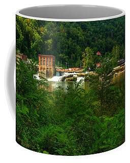 Coffee Mug featuring the photograph Kanawha Falls by Dave Files