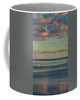 Kaneohe Bay Panorama Mural 4 Of 5 Coffee Mug