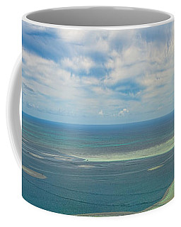 Kaneohe Sandbar Panorama Coffee Mug