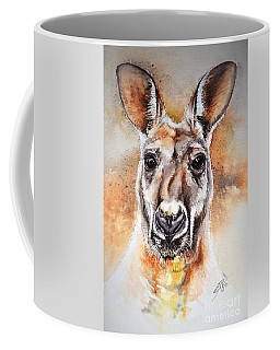 Kangaroo Big Red Coffee Mug