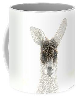 Coffee Mug featuring the photograph Kangaroo by Holly Kempe