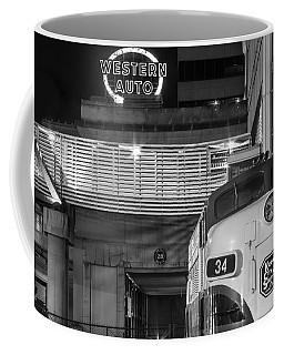Kansas City Night Train Coffee Mug by Steven Bateson