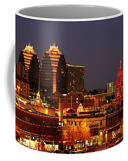 Kansas City Plaza Lights Coffee Mug by Catherine Sherman