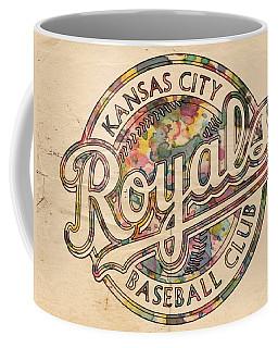 Kansas City Royals Logo Vintage Coffee Mug