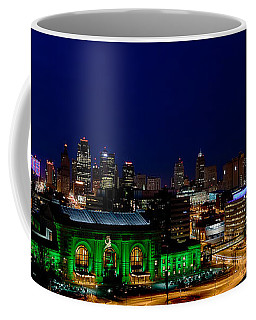 Kansas City Skyline Coffee Mug by Sennie Pierson