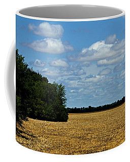 Kansas Fields Coffee Mug by Jeanette C Landstrom