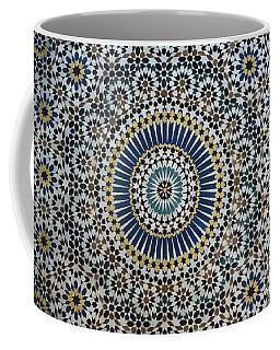 Kasbah Of Thamiel Glaoui Zellij Tilework Detail  Coffee Mug