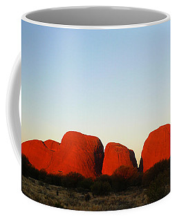 Kata Tjuta 2012 Coffee Mug by Evelyn Tambour