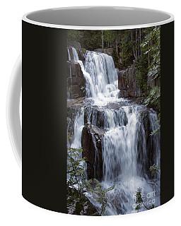 Katahdin Stream Falls Baxter State Park Maine Coffee Mug by Glenn Gordon