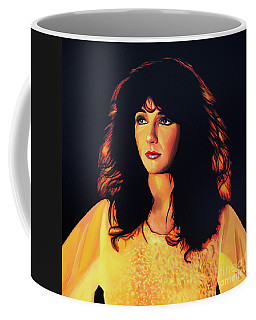 Kate Bush Painting Coffee Mug