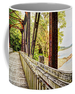 Katy Trail Near Coopers Landing Coffee Mug by Cricket Hackmann