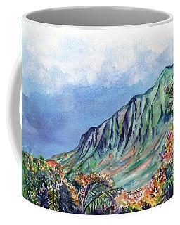 Kauai Kalalau Valley Coffee Mug by Marionette Taboniar