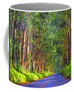 Kauai Tree Tunnel Coffee Mug