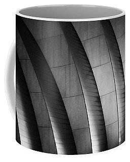 Kauffman Performing Arts Center Black And White Coffee Mug